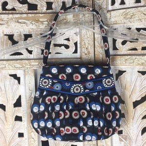 Vera Bradley Owl Quilted Zip Top Mini Bag